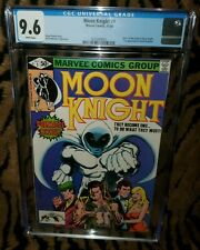 Moon Knight #1 CGC 9.6 White Pages 1st Bushman