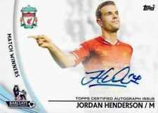 Premier League Checklist Liverpool Football Trading Cards