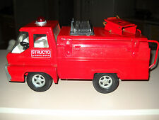 RARE 1966 VINTAGE STRUCTO FIRE TRUCK BY ERTL TOYS-GREAT CONDITION!!