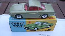 CORGI 222 RENAULT FLORIDE 1959-65 ORIGINAL LIGHTLY MARKED CAR IN BEST REPRO BOX.