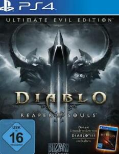 Playstation 4 Diablo 3 + III Reaper of Souls Ultimate Evil Edition Top Zustand