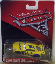 Disney Pixar Cars 3 ~ Die-Cast ~ Dinoco Cruz Ramirez