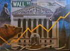 FINANCIAL ART PRINT WALL STREET STOCK MARKET/ Rare Cover Art Day Trading Bull