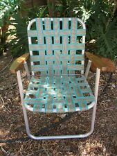 2 x VINTAGE RETRO OUTDOOR FOLDING CHAIRS for naomi only