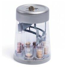 Caja de dinero Clasificador y Contadores de monedas Electrónico pantalla  LCD