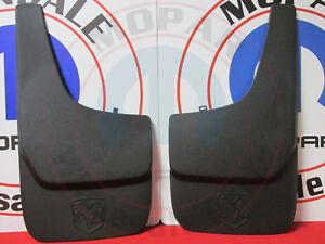 DODGE RAM DAKOTA NITRO DURANGO 4X4 Set Of Front OR Rear Flat Splash Guards MOPAR