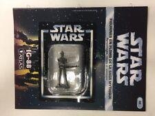 star wars figurine en plomb ig-88 n32/60 neuve blister fascicule atlas