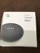 Google GA00216-UK Home Mini Smart Assistant - Charcoal
