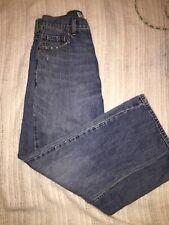 Mens Levis 569 Loose Straight Fit Blue Jeans size 30 x 32
