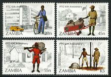 Zambia 331-334,MI 341-344,MNH.Postal & Telecommunications Corp. 10th anniv. 1985