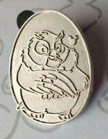 Mama Owl Chaser Disney Birds 2014 Hidden Mickey Fox and the Hound DLR Pin 102278