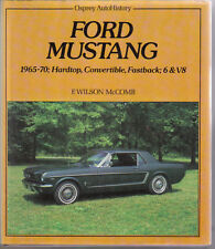 Ford Mustang 1965-1970 Hardtop Convertible Fastback, 6 & V8 Osprey AutoHistory