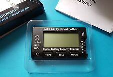 LiPo Battery Capacity/Voltage Checker/Tester Meter/LiFe Li-ion NiMH