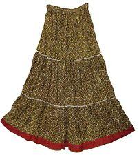 Indian COTTON skirt jupe rok Boho falda Hippy Gypsy RETRO kjol ethnic WOMEN EHS