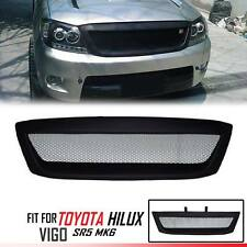 Front Grill Grille Black Net Fit For Toyota Hilux Pickup Kun Sr5 Mk6 Vigo 05-11