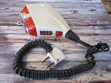 VINTAGE SOVIET USSR CCCP RUSSIAN ELECTRIC RAZOR RED WHITE XAPKIB 5M WORKING