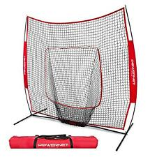 c7a2d4e90 PowerNet Baseball and Softball Practice Net 7 x 7 with bow frame local pick  up