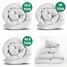 Anti-Allergy Heavyweight Winter Warm Duvet Quilt 13.5 15 16.5 Tog Bedding Set