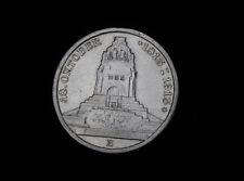 3 Mark Sachsen 1913 Völkerschlachtdenkmal Silber Kaiserreich