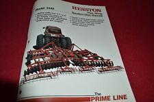 Hesston 2440 Flex Wing Tandem Disc Harrow Dealer's Brochure DCPA2 ver2