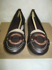 "Timberland Flats Ballerina 6 Medium / Leather (NIB)  Solid Brown  ""CARMONA"""