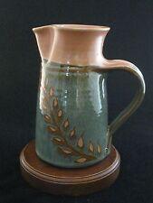 American Pottery Artist Susan Balentine Tall Pitcher