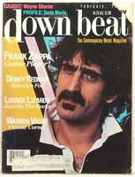 DOWN BEAT MAGAZINE FRANK ZAPPA DEWEY REDMAN WARREN VACHE WAYNE SHORTER VERY RARE