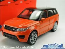 RANGE ROVER MODEL CAR ORANGE (CHILLI RED) 1:36-1:38 SIZE WELLY NEX 4X4 MK4 K8