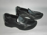 Gucci Black Leather Loafers Sz 5.5 B Made In Italy Gently Used