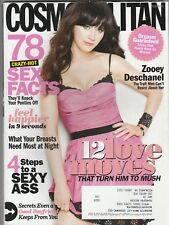 Zooey Deschanel Cosmopolitan Magazine October 2012 (Buy 1 Get others at 50% off