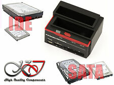 DOCKING STATION SATA + IDE - USB + HUB + Lettore CF SD