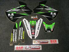 Kawasaki KX85 2001-2013 D COR Team Green graphics decal kit GR1828