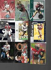 Lot of 12, All are Jerry Rice Inserts w/ #ed National Treasures Air Force Hot #s