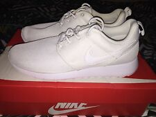 Juniors Nike Roshe One Size 5 Triple White Exclusive