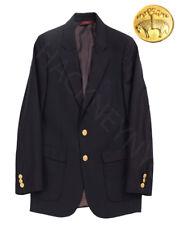 Brooks Brothers Fleece Loro Piana Super 120's Wool Navy Blue Blazer Coat Boys 10
