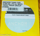 Tichy Train Group #10080 Decal for: Anchor Tank Car 10,000 Gal LPG  (HO Scale)