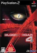 Used PS2 Bloody Roar 4 SONY PLAYSTATION 2 JAPAN