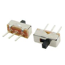 50 Pcs 2 Position SPDT 1P2T 3 Pin PCB Panel Vertical Slide Switch LW