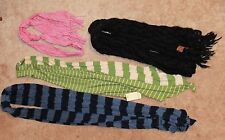 LOT OF 4 * FASHION SCARVES (Fossil, Saachi, Old Navy)