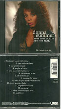 CD - DONNA SUMMER : THIS TIME I KNOW IT' S FOR REAL / COMME NEUF - LIKE NEW