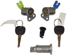 2006-2009 Pontiac Solstice Ignition+Doors+Glove Box Lock Cylinders W/2 Keys OEM
