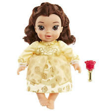 Disney Beauty and Beast Deluxe Belle Baby Doll - Brunette