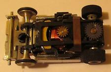 AFX Super II Black Chassis w/Gold Plated Parts, Quadralam and Gear Plate