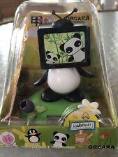 New Solar Powered Dancing Toy Bobble Head Large PANDA BEAR - TV