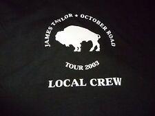 James Taylor Rare Vintage Crew Tour Shirt ( Size L ) NEW DEADSTOCK!!!