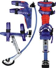 Kids/Child Youth Kangaroo Shoes Jumping Stilts Fitness Exercise (66-110lbs) Blue