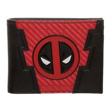 Marvel Deadpool Chrome Weld Patch Bifold Wallet