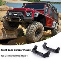 2x Front Back Bumper Mount Metal Bracket for 1/10 RC TRAXXAS TRX4-4 installation