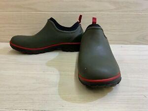 Bogs Sauvie Slip-On Casual Shoe - Men's Size 10, Dark Green