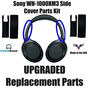 Replacement Side Cover Slider Part KIT for Sony WH1000XM3 WH-1000XM3 Headphones